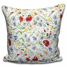 FLORAL CUSHION COVER 100% Cotton Designer Inspired Floral Pillowcase TOP QUALITY