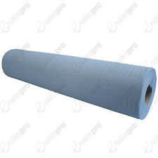 Blue 2 ply couch or desk rolls or wipes perforated 48cm wide Deals for up to 9