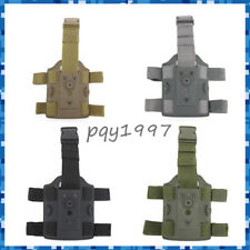 Tactical Dual Strap Leggings Device Panel Pistol Holster Drop Leg Thigh Holster