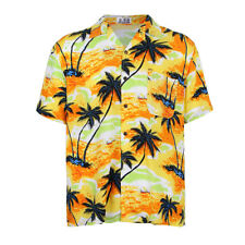 T-shirt Manica Corta Da Uomo Fashion Holiday T-shirt Da Spiaggia Hawaiian