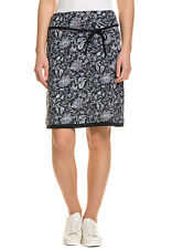 TOM TAILOR Damen ROCK Printed Jersey Skirt With Be