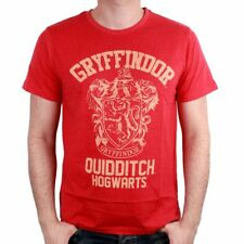 Tshirt Harry Potter - Gryffindor Quidditch Distress Logo