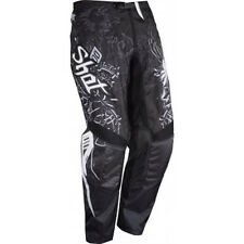 Shot Cross Enduro Pantalon Contacter Old School Noir-Blanc Gr. 28-44