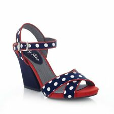 Ruby Shoo Evie Navy Spots Shoes
