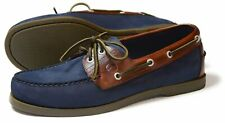 Orca Bay Oakland Mens Navy Leather Deck Shoes