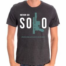 Tshirt Star Wars - Solo A Star Wars Story - Never Go Solo