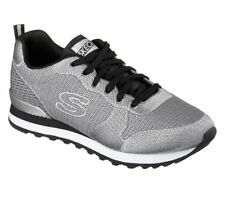 Skechers - OG 85 - Shimmer Time - Scarpe Donna - Light Gray - 117/LTGY
