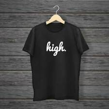 HIGH T SHIRT PRINTED HYPE RELIGION DOPE TOP HIPSTER SWAG STREET UNISEX TEE WEED