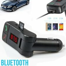Wireless Bluetooth Handsfree Car  FM Transmitter Stereo MP3 Player USB TF AUX