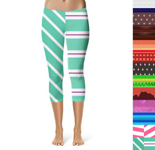 Sugar Rush Racers Wreck It Ralph Inspired Sport Capri Leggings