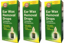 Ear Wax Earwax Removal Drops Carbamide Peroxide 6.5% Remover Cleaner EXP 4/19