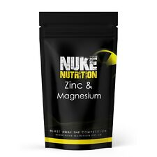Zinc Magnesium Capsules TEST BOOSTER MUSCLE GROWTH TESTOSTERONE + STRENGTH