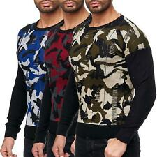 Redbridge Pullover Tricoté pour Homme Strick- Pull Sweat Camouflage Neuf