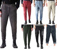 Diesel Uomo Jeans Pantaloni - Knöchellang - Relaxed Fit - Carrot-Chino M W28-W34