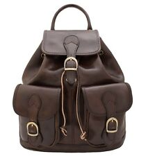 """ZAINO IN CUOIO / LEATHER BACKPACK """"MICHELANGELO"""""""