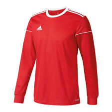 Adidas Equipe 17 Maillot Manches Longues Blanc Rouge