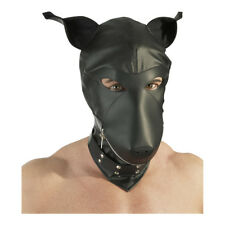 Fetish Collection - Masques - Masque en cuir imitation chien - Noir