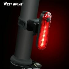 Bike Light Waterproof Cycling Taillight Led USB Rechargeable Riding Rear MTB
