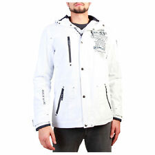 BD 90534 Clemente_man Blanco Geographical Norway Chaqueta Hombre