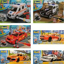 Revell Junior Kit Level 1 Motor Vehicle Starter Kit  4+ 6+ New Plastic Model Kit