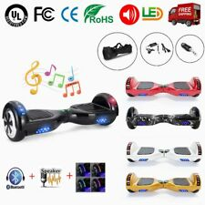 "6.5"" Patinete Monociclo Electrico Scooter Hoverboard Balance Board Bluetooth"