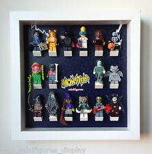 Lego Monsters minifigures Frame. Display Case for Lego Minifigures Series 14