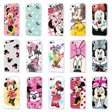 MINNIE MOUSE DISNEY CUTE GIRLY WHITE PHONE CASE COVER for iPHONE 4 5 6 7 8 X