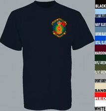 ROYAL ENGINEERS VETERAN FIELD SQUADRON TROOP LONG OR SHORT SLEEVE T SHIRT TO5XL
