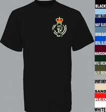 ROYAL ARMOURED CORPS TANK REGIMENT CAVALRY LONG OR SHORT SLEEVE T SHIRT TO 5XL