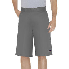 Dickies Gris Travail Court 42283 33cm Coupe Ample Multi Poche Tailles 30 To 44