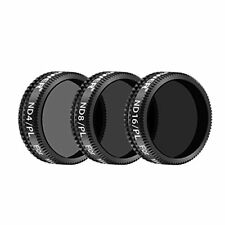 3 Pieces Pro Lens Filter Kit For Dji Mavic Air Drone Quadcopter Includes: Nd4/pl