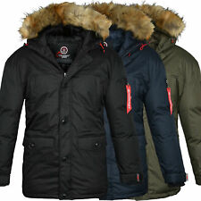 Canadian Peak By Geographical Norway Parka Uomo Inverno Giubbotto Invernale