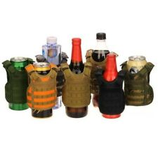 Outdoor Tattico Militare Mini Gilet Birra Bevanda Borraccia Lattine