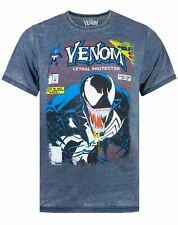 Marvel Venom Comic Cover Men's Burnout T-shirt S - XXL