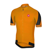 CASTELLI  VOLATA 2 JERSEY SS ORANGE/BLACK 4517018034