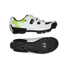 CUBE SHOES MTB CMPT WH N GREEN N BLACK C_17004
