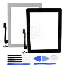 Touch Digitizer Screen+Adhesive+Home Button Flex for iPad 4,A1458,A1459,A1460