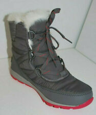 Sorel Whitney Short Lace Women's Winter Boots NL2776/053 Quarry/Bright Rose NEW