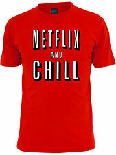 Netflix and Chill Unisex T-Shirt. Funny netflix lovers booty call shirt
