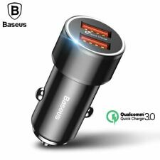 Dual USB Quick Car Charger For iPhone Type-C PD Mobile Phone Fast Charger