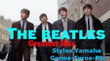 beatles greatest hit 39 s styles f r yamaha genos tyros psr. Black Bedroom Furniture Sets. Home Design Ideas
