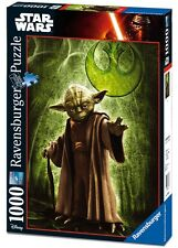 PUZZLE STAR WARS Yoda Chewbacca R2-D2 C-3PO RAVENSBURGER 19680 19681 19682 19780