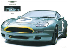 Aston Martin DB7 GT 1990 Vintage Showroom Advertising Picture Print Poster