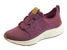 Sneakers Skechers SkyLine per donna in tessuto prugna air-cooled