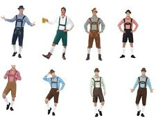 Men's Oktoberfest Bavarian Beer Festival Stag Fancy Dress Costumes German Fun