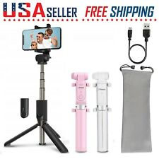 Selfie Stick With Bluetooth Remote Shutter+Tripod Mount for Cell Phone