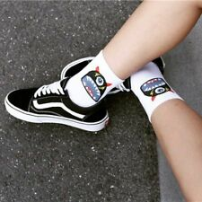 Casual Socks Cartoon Cotton For Woman Skate-board Style Cool Ankle Thick Winter