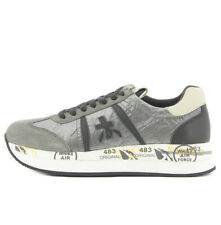 Premiata CONNY1493 Premiata Conny sneaker 1493 gray color with organza for woman
