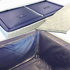 Water Bed Mattresses Dual Waterbed Set Incl Liner & Dividers Mesamoll2 Innorelax