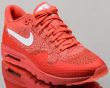 wholesale dealer 7104d 66636 Nike WMNS Air Max 1 Ultra Flyknit women lifestyle sneakers NEW bright  crimson